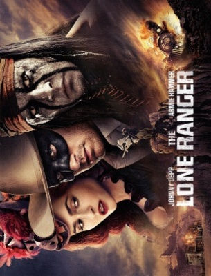 The Lone Ranger movie poster (2013) poster MOV_9627e5cd