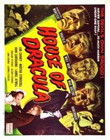 House of Dracula movie poster (1945) picture MOV_962bb1b6