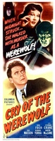Cry of the Werewolf movie poster (1944) picture MOV_9658482a