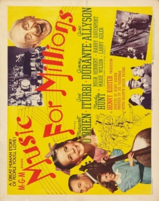 Music for Millions movie poster (1944) poster MOV_965f6029