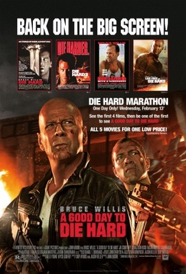 A Good Day to Die Hard movie poster (2013) poster MOV_96af8fcf