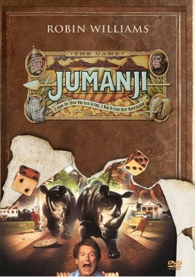Jumanji movie poster (1995) poster MOV_96bcea83