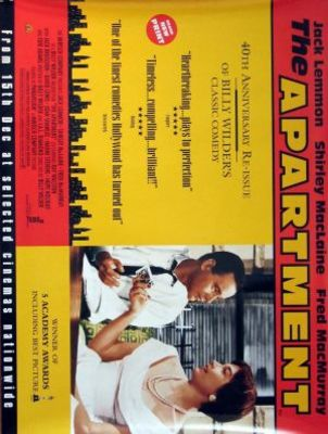 The Apartment movie poster (1960) poster MOV_96e00d5b