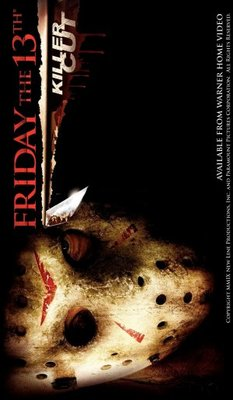 Every friday the 13th movie poster