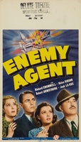Enemy Agent movie poster (1940) picture MOV_96f9cc38