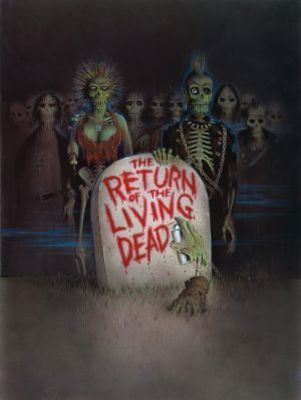 The Return of the Living Dead movie poster (1985) poster MOV_9717ca6c