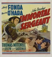 Immortal Sergeant movie poster (1943) picture MOV_97330cc4