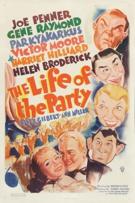 The Life of the Party movie poster (1937) poster MOV_973879a2