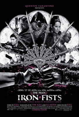 The Man with the Iron Fists movie poster (2012) poster MOV_973e4bf3