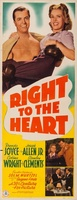 Right to the Heart movie poster (1942) picture MOV_9744e009