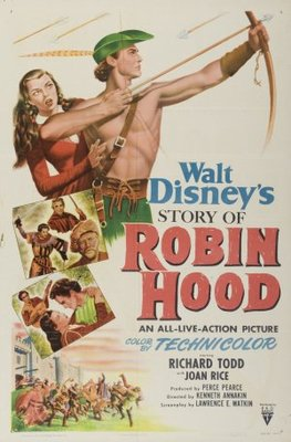 The Story of Robin Hood and His Merrie Men movie poster (1952) poster MOV_975be851
