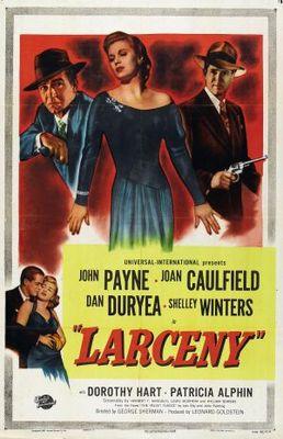 Larceny movie poster (1948) poster MOV_975dd38f