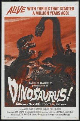 Dinosaurus! movie poster (1960) poster MOV_97654240