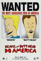 Beavis and Butt-Head Do America movie poster (1996) picture MOV_976ad5a0
