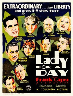 Lady for a Day movie poster (1933) poster MOV_9772893f