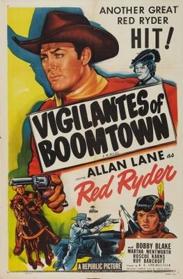 Vigilantes of Boomtown movie poster (1947) poster MOV_9781c51a