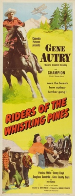 Riders of the Whistling Pines movie poster (1949) poster MOV_978f1b8b