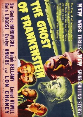 The Ghost of Frankenstein movie poster (1942) poster MOV_97a35044