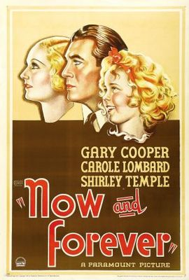 Now and Forever movie poster (1934) poster MOV_97b32450