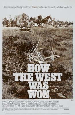 How the West Was Won movie poster (1962) poster MOV_97c18e40
