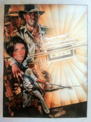 Raiders of the Lost Ark movie poster (1981) poster MOV_97c1ffa5