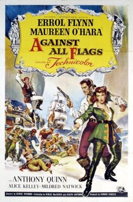 Against All Flags movie poster (1952) poster MOV_97c89866