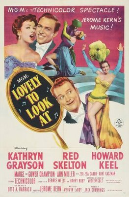 Lovely to Look at movie poster (1952) poster MOV_97ec8c0e