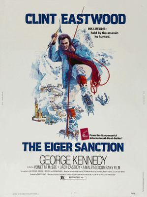 The Eiger Sanction movie poster (1975) poster MOV_97ef1351