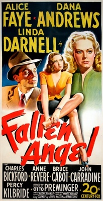 Fallen Angel movie poster (1945) poster MOV_97f6a193