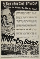 Riot in Cell Block 11 movie poster (1954) picture MOV_8900ccc6