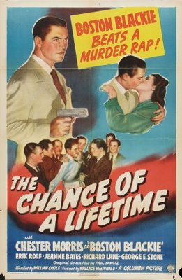 The Chance of a Lifetime movie poster (1943) poster MOV_980b85a4