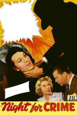 A Night for Crime movie poster (1943) poster MOV_98103829