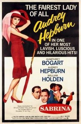Sabrina movie poster (1954) poster MOV_9814fe9b