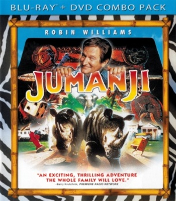 Jumanji movie poster (1995) poster MOV_984c8af4
