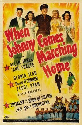 When Johnny Comes Marching Home movie poster (1942) poster MOV_98541c8a