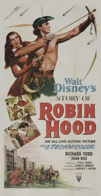 The Story of Robin Hood and His Merrie Men movie poster (1952) poster MOV_985520b5