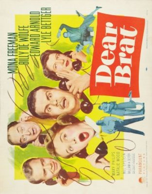 Dear Brat movie poster (1951) poster MOV_9856a5b4