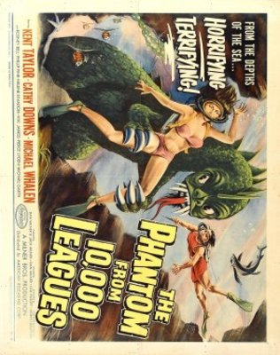 The Phantom from 10,000 Leagues movie poster (1955) poster MOV_98581225