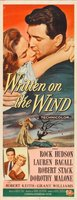 Written on the Wind movie poster (1956) picture MOV_9898bd50