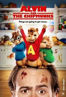 Alvin and the Chipmunks movie poster (2007) poster MOV_989b994b