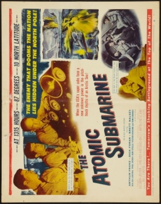The Atomic Submarine movie poster (1959) poster MOV_98aa552e