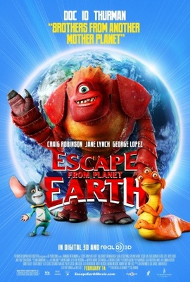 Escape from Planet Earth movie poster (2013) poster MOV_98b698c3