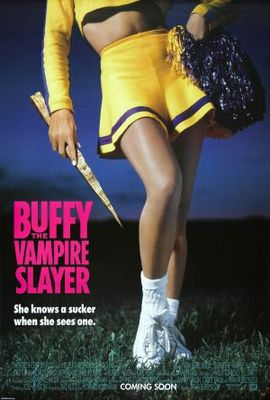 Buffy The Vampire Slayer movie poster (1992) poster MOV_98cb7829