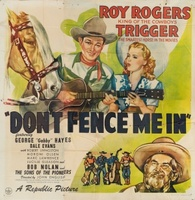 Don't Fence Me In movie poster (1945) picture MOV_98d7347c