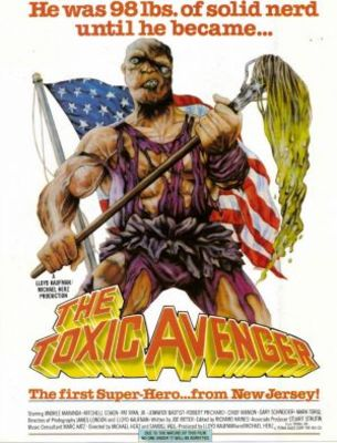 The Toxic Avenger movie poster (1985) poster MOV_98f0b086