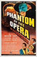 Phantom of the Opera movie poster (1943) picture MOV_98fbcec8