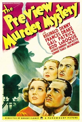 The Preview Murder Mystery movie poster (1936) poster MOV_9914b2ea