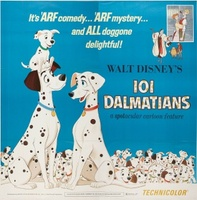 One Hundred and One Dalmatians movie poster (1961) picture MOV_9915f3a4