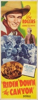 Ridin' Down the Canyon movie poster (1942) picture MOV_d0e74ed4