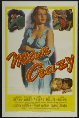 Man Crazy movie poster (1953) poster MOV_993310dd